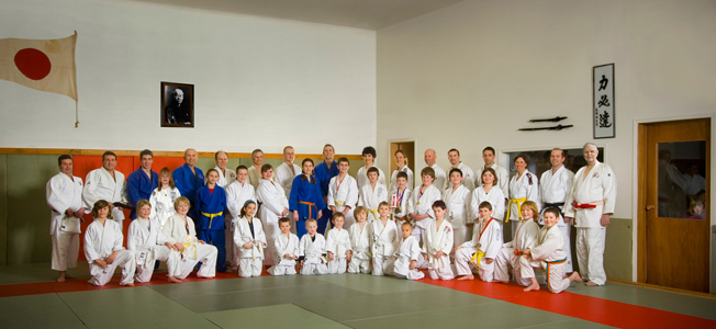 Campbell River Judo Club group picture