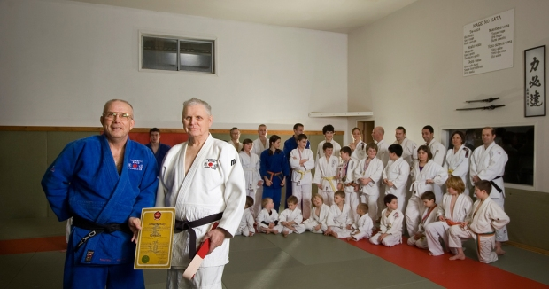 James Ramsey receives his 6th degree black belt